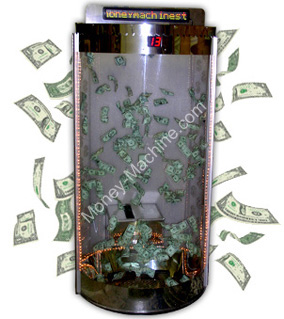 All-Clear Deluxe Circular Cash Cube / Money Machine